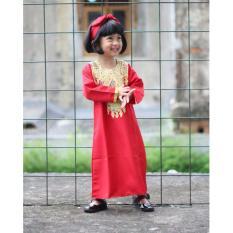 Adora Baby Kaftan Bayi Zahira Red