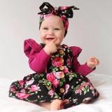 Menggemaskan Balita Bayi Gadis Anak Bunga Pesta Sleeveless Dress Sundress Pakaian Intl Asli