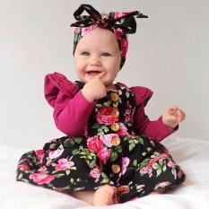 Jual Menggemaskan Balita Bayi Gadis Anak Bunga Pesta Sleeveless Dress Sundress Pakaian Intl Tiongkok Murah