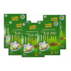 Afis Life Sari Bubuk Kedelai Kacang Hijau - 5 Kotak - 200 gram