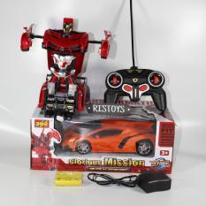 Harga Ahs Rc Mobil Jadi Robot Lamborgini Veneno 1 18 Mainan Remote Controi Anak New