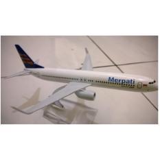 Beli Akashi Mainan Koleksi Anak Miniatur Pesawat Merpati Indonesia