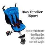 Beli Alas Stroller Isport Blue Iflex Icross Alas Stroller Balita Terbaru