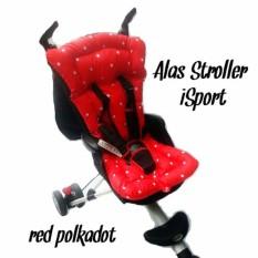 Alas Stroller isport RED - iFlex - ICross - Alas Stroller Balita