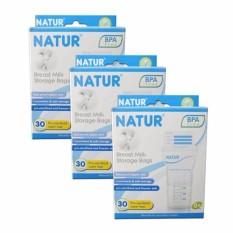 Beli Barang Alfati 236 Natur Breastmilk Storage Bags Atau Kantong Asi Natur 1 Box Online