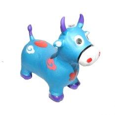 Jual Alldaysmart Mainan Anak Animal Jumping Sapi Biru Alldaysmart Branded