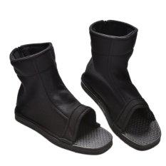 Amango Ninja Sepatu Boots untuk Naruto Akatsuki Black Cosplay 1 Pair 40-Intl