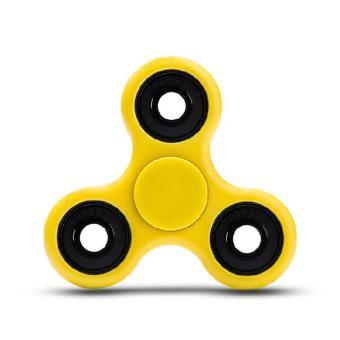 ... ANGEL Fidget Spinner Hand Toys Mainan Tri Spinner EDC Ceramic Ball Focus Games Kuning