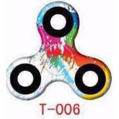ANGEL - Fidget Spinner Mix T-006 Hand Toys Mainan Tri-Spinner EDC Focus