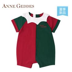 Anne Musim Panas Katun Lengan Pendek Petinju Celana Pendek Baju Bayi