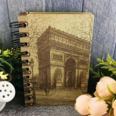 Anneui - Vintage - Paris Old Spiral Notes - No.3 By Anneui Shop.