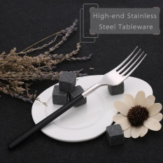 Anself High-end Sendok Garpu Garpu Western Tableware Stainless Steel Berkualitas Baik Steak Garpu-Internasional