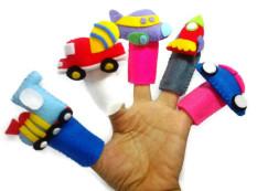 Jual Boneka Jari Transportasi Mainan Edukasi Anak Melatih Komunikasi Dan Imajinasi Baru
