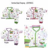 Spesifikasi Aruchi Set Piyama Bayi Baju Celana Panjang Motif Ladybug Isi 3Stel Online