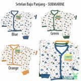 Toko Aruchi Set Piyama Bayi Baju Celana Panjang Motif Submarine Isi 3Stel Online Indonesia
