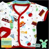 Beli Aruchi Stelan Baju Pendek Birthday New Born Isi 3Pcs