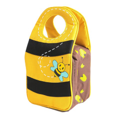 Jual Arvita Kids Lunch Bag Food Container Ice Cooler Bee Satu Set