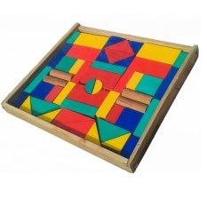 Atham Toys Balok Bangun Kayu C48