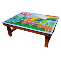 Diskon Atham Toys Meja Lipat Vernish Branded