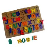 Toko Atham Toys Puzzle Alphabet Angka Cat Huruf B Online Terpercaya