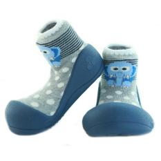 Attipas Baby Shoes (Zoo Navy) / Sepatu Bayi / Sepatu Prewalker / Kaos kaki bayi / Sepatu anak / Toddler shoes