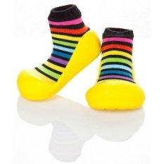 Review Toko Attipas Happy Walk Rainbow Yellow