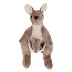 Australia Kangaroo Mewah Mainan Boneka Lucu Bantal Bantal Bantal Anak Bayi Hadiah-Internasional-Internasional