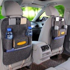 Tempat Duduk Mobil Otomatis Kembali Multi-Saku Penyimpanan Pengatur Tas Pemegang Aksesori By Masamall.