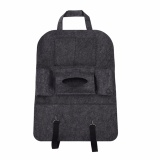 Jual Auto Car Seat Back Multi Pocket Storage Bag Organizer Holder Accessory Deep Grey Intl Baru