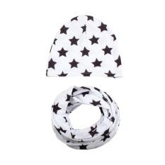 Musim Gugur Musim Dingin Bayi Hat Girl Boy Cap Anak Topi Balita Kids Hat Scarf Collars-Intl