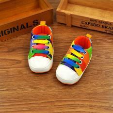Dapatkan Segera Ava Baby Prewalker Rainbow Shoes Sepatu Bayi Laki Laki