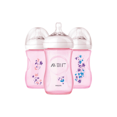 Toko Avent Bottle Natural 260Ml Single Pink Flower Indonesia