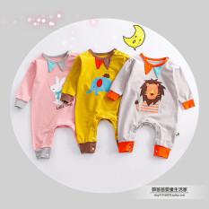 Harga Ayah Katun Rumah Bayi Bayi Baju Mendaki Pakaian Peninsula Baby Ori
