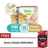 Toko B2G1F Pampers Popok Premium Care Taped Nb 28 X 2 Free Downy Passion Refill 800Ml Terdekat