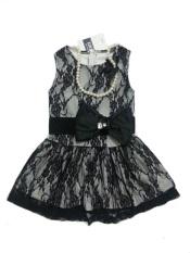 Review B2W2 Dress Lace Renda Anak Perempuan Hitam B2W2
