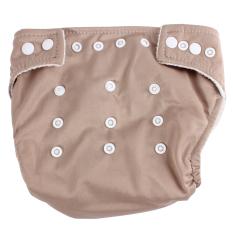 Spesifikasi Bayi Yg Dpt Menyesuaikan Diri Dapat Digunakan Kembali Mudah Dicuci Tahan Bocor Popok Popok Covers Cokelat Kehitaman Murah