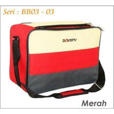 Jual Baby Bag Diaper Bb03 Tas Bayi Dayony Bb 03 Merah Branded Murah