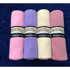Spesifikasi Bedong Bayi Premium Baby Richi Multi Girls Isi 4 Pcs Selimut Bayi Alas Bayi Warna Pink Lavender Lemon Rose Paling Bagus