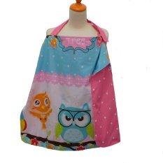 Beli Baby Bess Apron Menyusui 2 Motif Owl Dot Lengkap