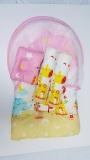 Spesifikasi Baby Bess Kasur Lipat Kelambu Bayi Sweet Dream Pink Lengkap Dengan Harga