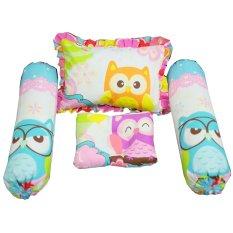 Spek Baby Bess Set Bantal Bayi Plus Peyang Owl Baby Bess