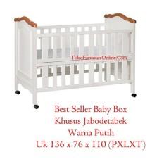Baby Box Tempat Tidur Bayi Ranjang Kasur Yulia Kayu