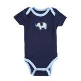 Review Terbaik Bayi Laki Laki Pakaian Senam Jumper 100 Cotton Bayi Laki Laki Anak Bayi Balita Baju Monyet Gelap Internasional