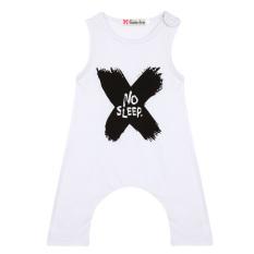 Harga Bayi Laki Laki Anak Baju Bayi Baju Monyet Perempuan Satu Set Mengurangi Putih Online Tiongkok