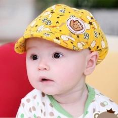 Baby Boy G*rl Anak Balita Bayi Terengah Engah Baseball Beret Cap Kuning Nbsp Intl Tiongkok