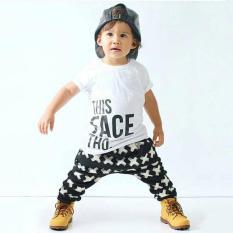 Toko Bayi Laki Laki Balita Sembarangan Membeli T Shirt Baju Atasan Celana Harem 2 Buah Pakaian Oem Online