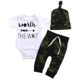 Jual Bayi Boys Pakaian Set Baju Mainan Anak Anak Kamuflase Celana Hat Pakaian Bayi Intl Oem Murah