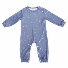 Spek Baby Boys Girls Cotton Romper Bodysuit Jumpsuit Outfits Clothing Set Blue Intl Tiongkok