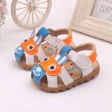 Beli Bayi Laki Laki Pertama Sepatu Sandal Balita Walker Lembut Bersol Tumit Lampu Berkedip Biru International Online Tiongkok
