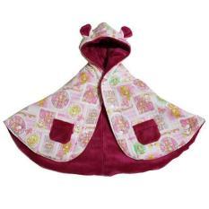 Baby Cape Animer Princess Pink - Bibbo Babywear